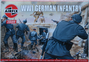 Airfix 1/72 AX00726V German Infantry (WW1)